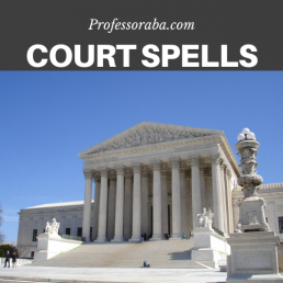 Court and Immigration Spells