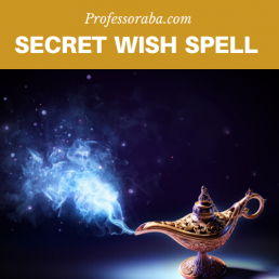 Secret Wish Spell