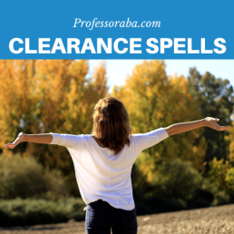 Clearance Spells
